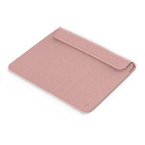 "Папка-конверт Wiwu Skin Pro2 Leather для MacBook 13,3"" pink"