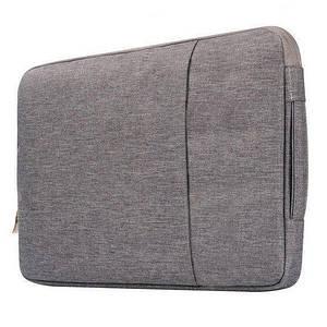 """Сумка для ноутбука 15.4"""" Cowboy bag gray"""