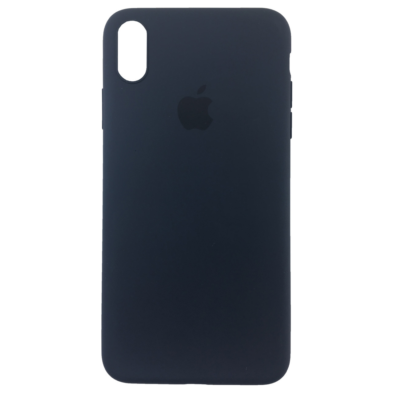 Чехол накладка xCase для iPhone XS Max Silicone Slim Case Midnight Blue