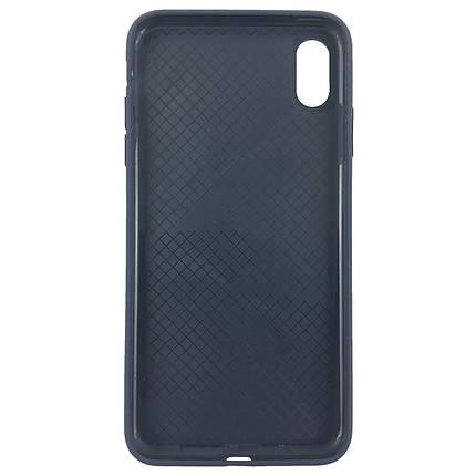 Чехол накладка xCase для iPhone XS Max Silicone Slim Case Midnight Blue, фото 2