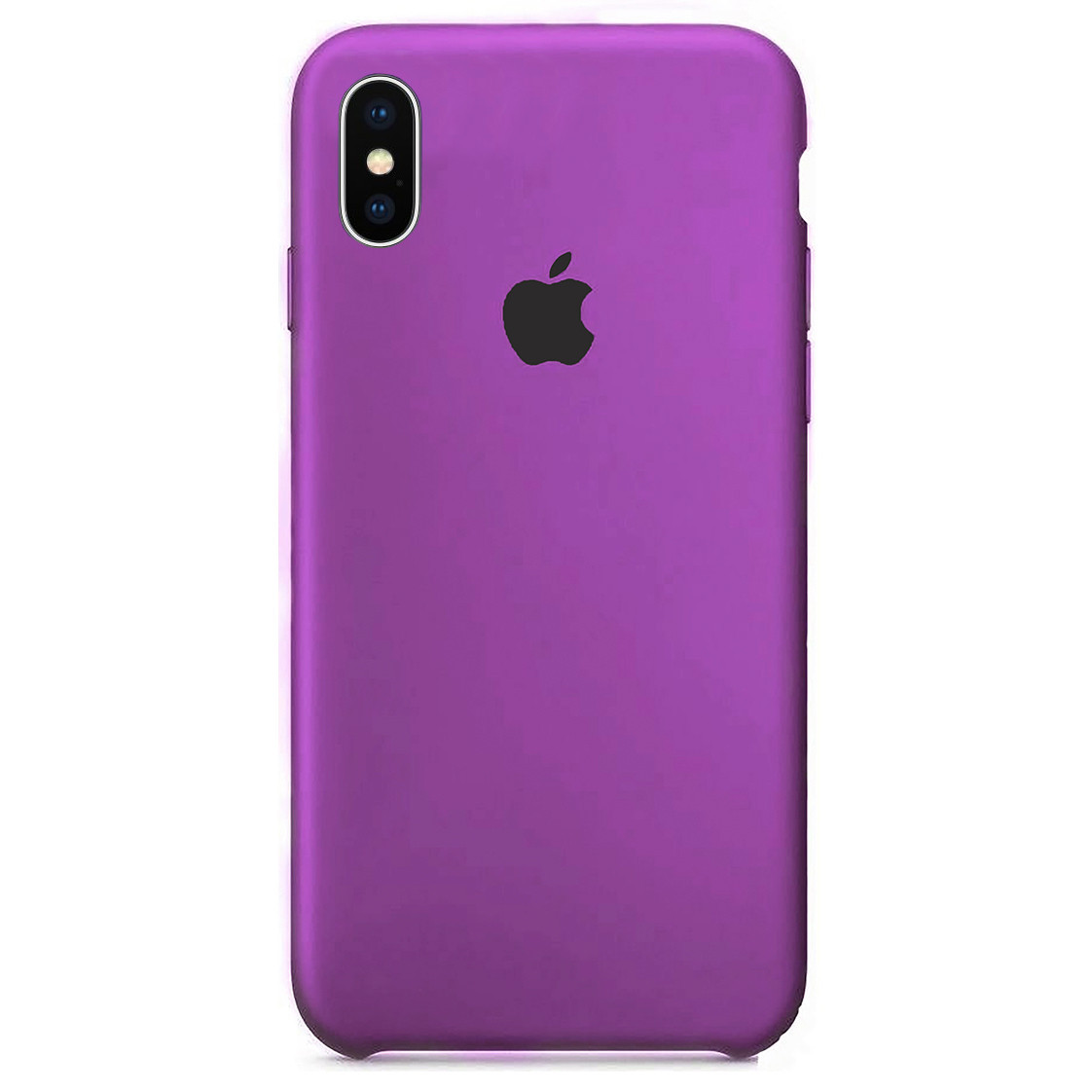 Чехол накладка xCase для iPhone XS Max Silicone Case Purple
