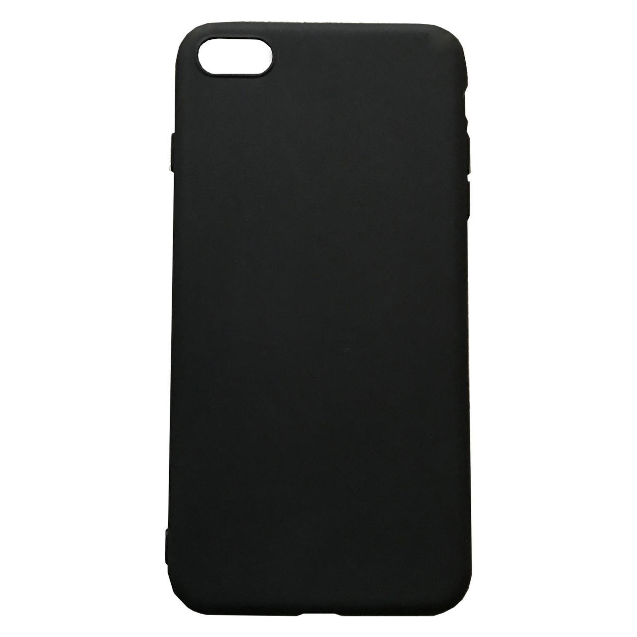 Чехол для iPhone X/XS Matte №2 black