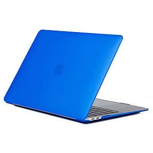 """Чехол HardShell Case for MacBook Pro 13.3"""" (2016-2019) Matte Blue"""