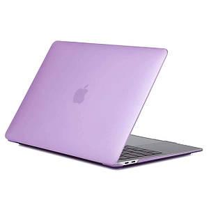 "Чехол HardShell Case for MacBook Pro 13.3"" (2016-2019) Matte Purple"