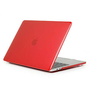"""Чехол HardShell Case for MacBook Pro 13.3"""" (2016-2019) Crystal Red"""