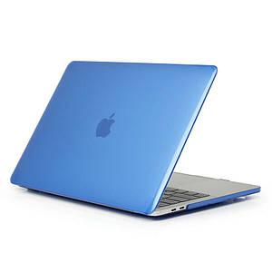 "Чехол HardShell Case for MacBook Pro 13.3"" (2016-2019) Crystal Blue"