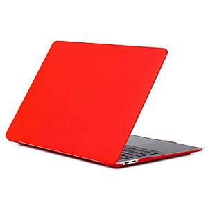 "Чехол HardShell Case for MacBook Pro 13.3"" (2016-2019) Matte Red"
