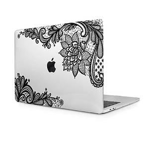 """Чехол HardShell Case for MacBook Pro 13.3"""" (2016-2019) Print Matte White"""