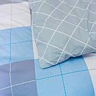 Комплект постільної білизни полуторний 1.5 спальний сатин, фото 5