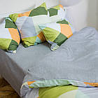 Комплект постільної білизни полуторний 1.5 спальний сатин, фото 3