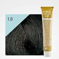 Крем-краска для волос Design Look Color Lux 100 мл 1.0 Черный