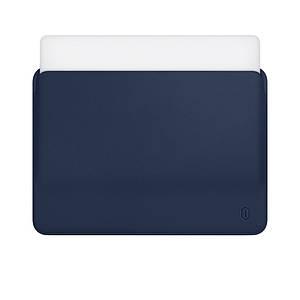 Чехол WIWU Skin Pro Leather Sleeve for MacBook Air 13 Navy Blue