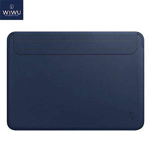 Чохол WIWU Skin Pro 2 Leather Sleeve for MacBook 12 Navy Blue