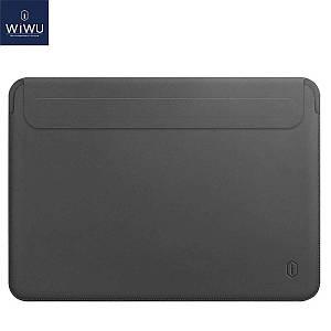 Чехол WIWU Skin Pro 2 Leather Sleeve for MacBook 12 Space Gray