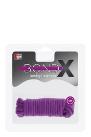 Веревка для бондажа BONDX LOVE ROPE - 5M, PURPLE