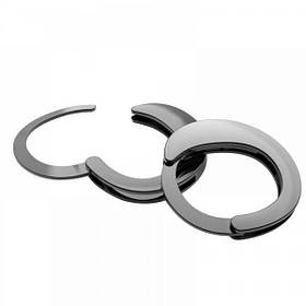 Наручники Разборные Premium Metal  Romfun, Black