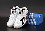 Мужские кроссовки Adidas Streetball (белые) 12148, фото 7