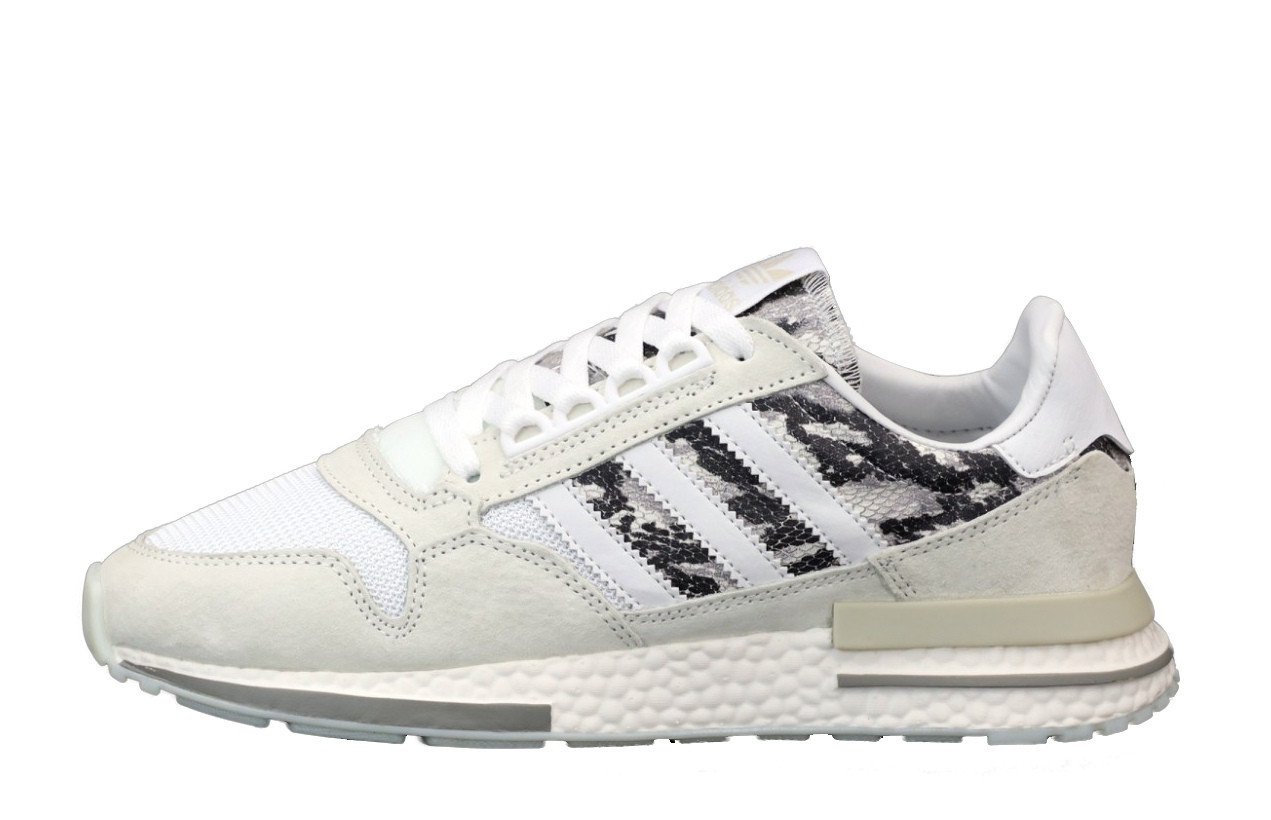 Чоловічі кросівки Adidas ZX 500 (білі) 12111