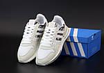 Чоловічі кросівки Adidas ZX 500 (білі) 12111, фото 2