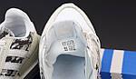Чоловічі кросівки Adidas ZX 500 (білі) 12111, фото 5
