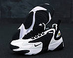 Мужские кроссовки Nike Zoom 2K (Черно-белые) 11760, фото 6