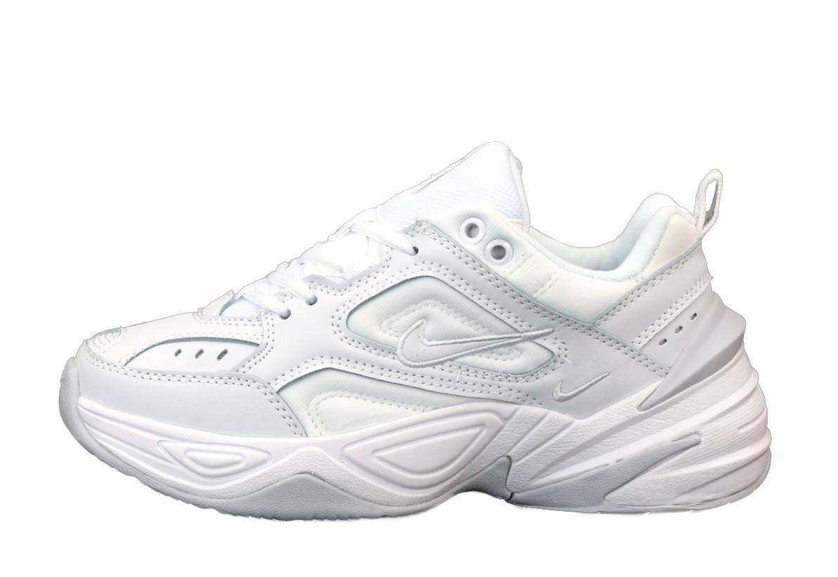 Мужские кроссовки Nike M2K Tekno (бело-серые) 11846