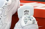 Чоловічі кросівки Nike M2K Tekno (біло-сірі) 11846, фото 7