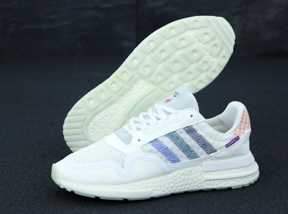 Кроссовки Adidas Commonwealth ZX 500 RM (белые) - Унисекс 11869