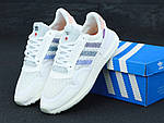 Кроссовки Adidas Commonwealth ZX 500 RM (белые) - Унисекс 11869, фото 3