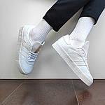 Женские кроссовки Adidas Samba (белые) 12188, фото 4
