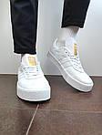 Жіночі кросівки Adidas Samba (білі) 12188, фото 5
