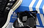 Чоловічі кросівки Adidas ZX 500 (чорно-білі) 12194, фото 5