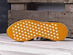 Мужские кроссовки Adidas Iniki Runner (черно/белые) KS 1500, фото 4