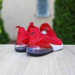 Женские кроссовки Nike Air Max 270 (красные) 20150, фото 2