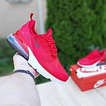 Женские кроссовки Nike Air Max 270 (красные) 20150, фото 6
