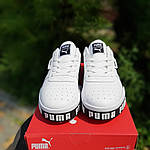Мужские кроссовки Puma Cali (бело-черные) 10208, фото 9