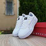 Жіночі кросівки Puma Cali (білі) O20153 легкі стильні кеди для дівчат, фото 4