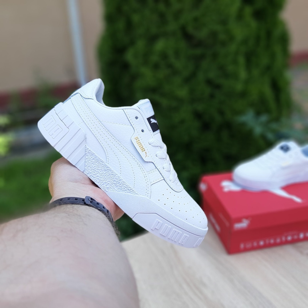 Мужские кроссовки Puma Cali (белые) 10209