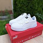 Мужские кроссовки Puma Cali (белые) 10209, фото 3