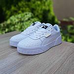 Мужские кроссовки Puma Cali (белые) 10209, фото 4