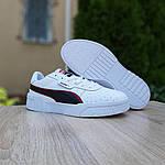 Мужские кроссовки Puma Cali (бело-черные) 10211, фото 5