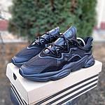 Чоловічі кросівки Adidas OZWEEGO (чорні) 1958, фото 2