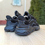 Мужские кроссовки Adidas OZWEEGO (черные) 1958, фото 3