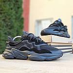 Мужские кроссовки Adidas OZWEEGO (черные) 1958, фото 5