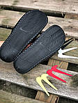 Мужские летние шлепанцы Nike со сменными свишами (черные) 211, фото 4