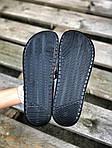 Чоловічі капці на літо Nike Just Do IT масажні (чорні) 218, фото 4