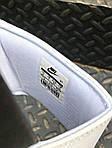 Мужские массажные шлепанцы на лето Nike Benassi (черно-белые) 201, фото 5