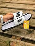 Чоловічі літні шльопанці Nike&Off White (білі) 214, фото 5