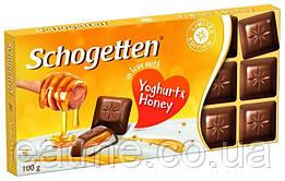 Schogetten Молочный шоколад с йогуртом и мёдом