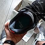 Мужские кроссовки Adidas EQT Support 91/18 black (черно/белые) KS 1498, фото 2